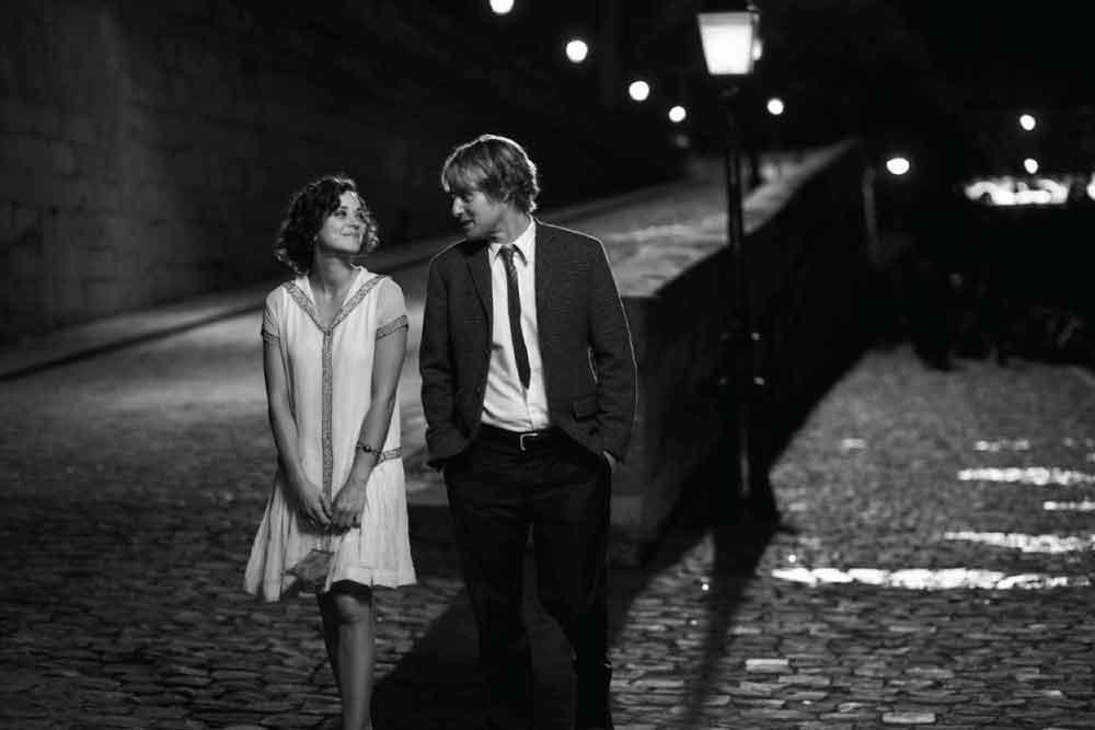 Owen Wilson in Midnight in Paris