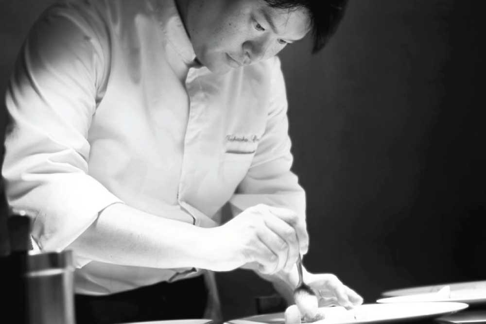 Chef Toshi at Alliance, Paris