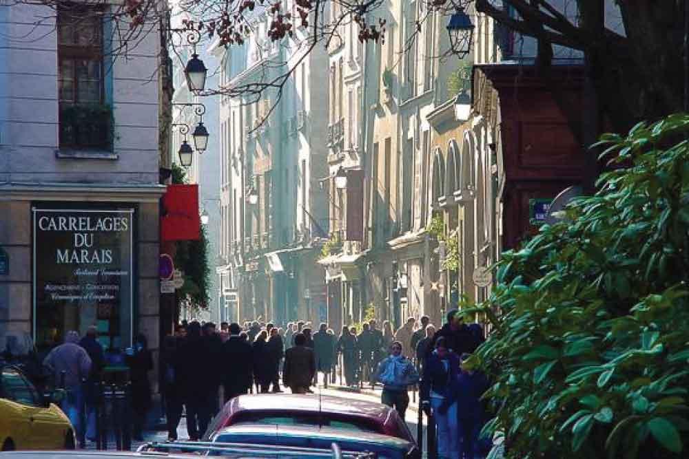 Le Marais-Paris-Street