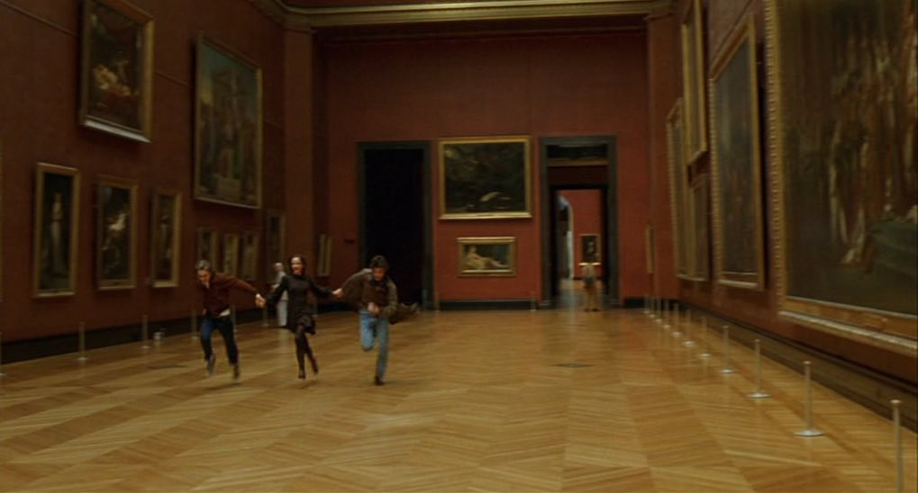 Lourve Run Through-Bande s part