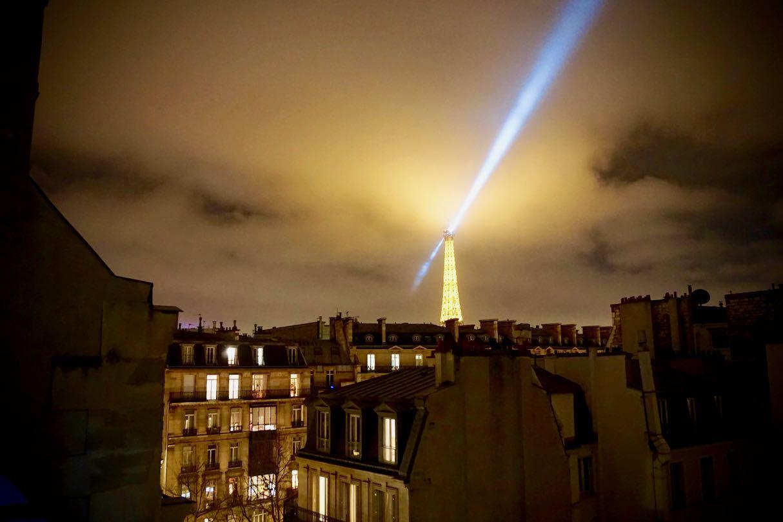 Paris Apartment Night by Georgie