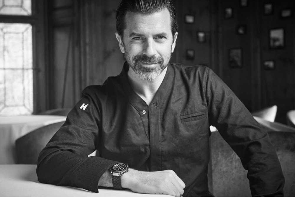 Chef Andreas Caminada - Schauenstein Schloss Restaurant Hotel