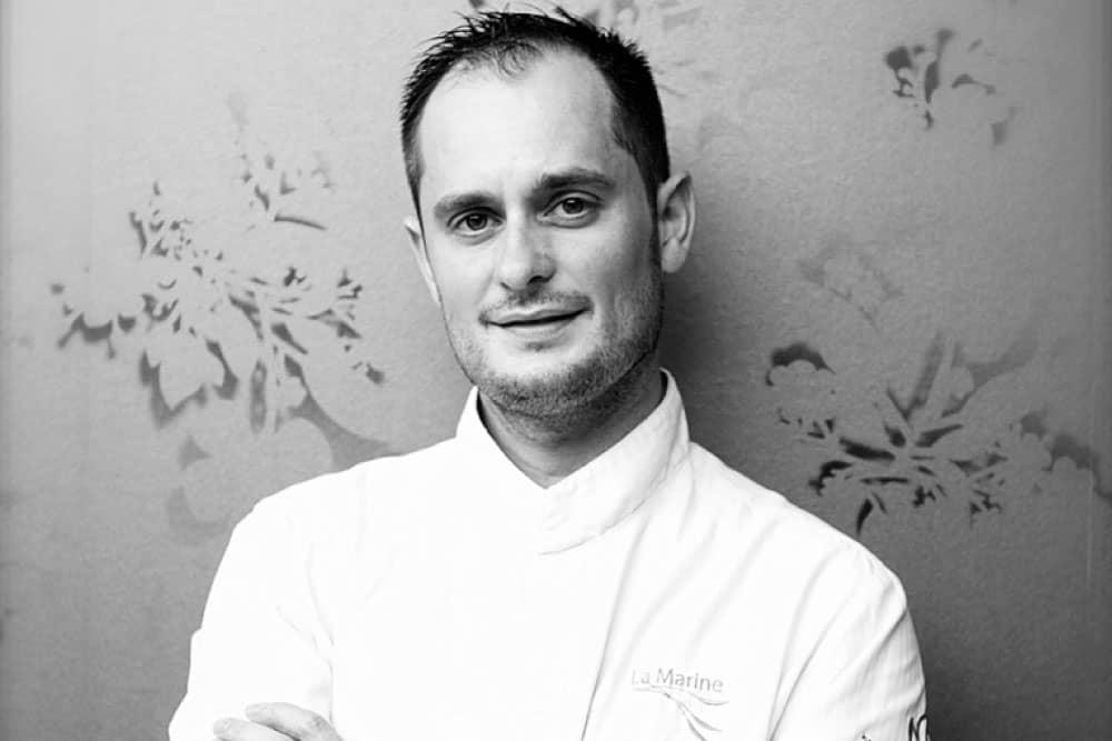 Chef Alexandre Couillon - La Marine - France