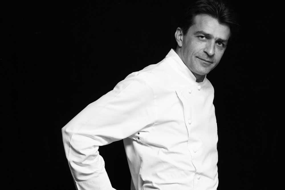 Chef Yannick Alléno Paris au Pavillon Ledoyen