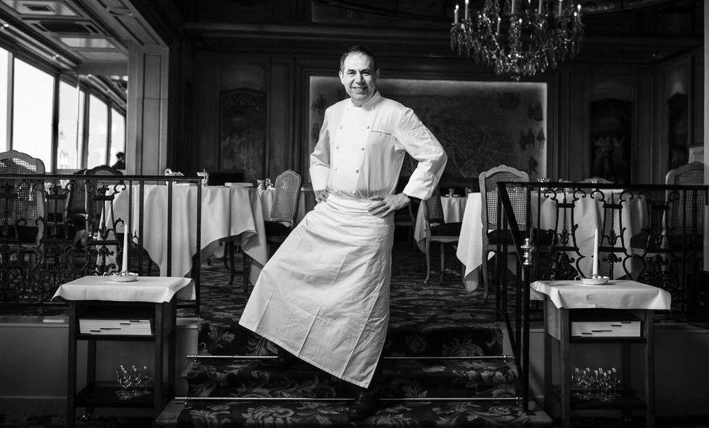 Chef Philippe Labbé - La Tour d'Argent - Paris