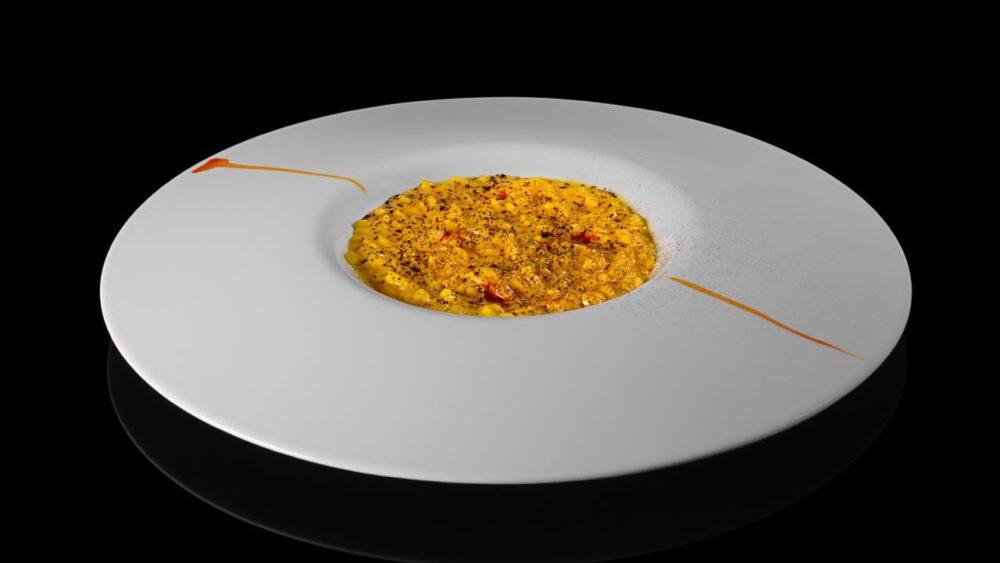 Saffron Risotto - Le Calandre - Italy - Image by Sergio Coimbra